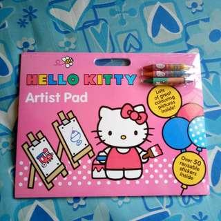 (BNEW) Hello Kitty Artist Pad