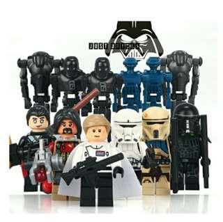 Star Wars Minifigures Set - Dargo D910A-F