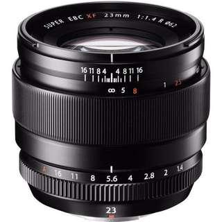 BNIB Sealed Fuji 23mm f1.4 lens