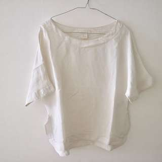 BLOUSE CLEAR WHITE BY H&M