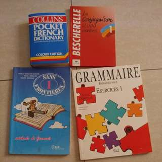 Learning French books