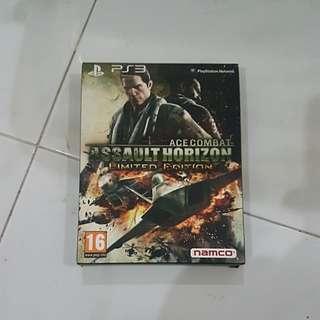 PS3 Game ACE COMBAT ASSAULT HORIZON LIMITED EDITION.