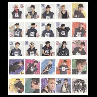 EXO UNOFFICIAL 1st YEAR PHOTOCAD