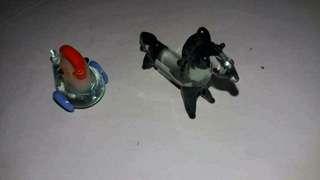 Miniature Hen & Horse