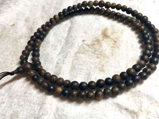 5mm Super Grade Sinking Wild Indonesian Agarwood 108 Mala Beads ⠀⠀