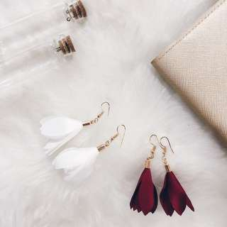 Flower Petals Earrings