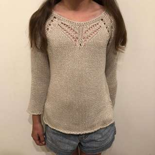 knotted jumper