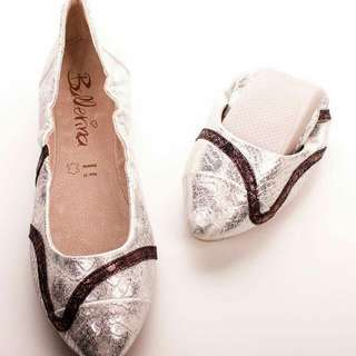 全新女裝鞋37碼, 買細左唔啱著 原價$390,現售$150