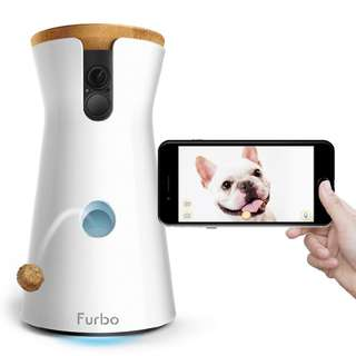 [IN-STOCK] Furbo Dog Camera: Treat Tossing, Full HD Wifi Pet Camera and 2-Way Audio, Designed for Dogs, Works with Amazon Alexa (As Seen On Ellen)