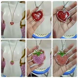 Strawberry & Love necklace (DAPAT 2)