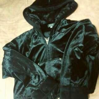 Jacket topi bludru/ Velvet