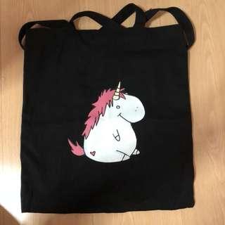 Fat unicorn tote bag 🦄