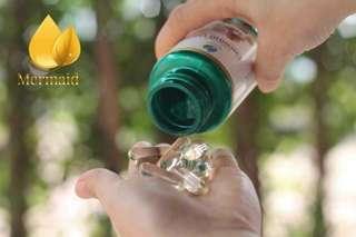 Coconut oil cold pressed 40 solfgels 100% natural