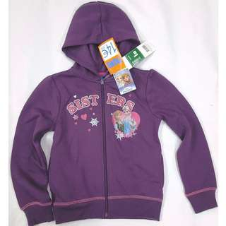 法國單冰雪奇緣 Frozen Elsa & Anna 小白 Olaf 薰衣草紫色薄絨外套, 5個碼: 3A, 4A, 5A, 8A, 10A (3-10歲), 可以姊妹裝👭,  原價14.95歐元, 差不多$150一件,  我地震撼價: $20一件