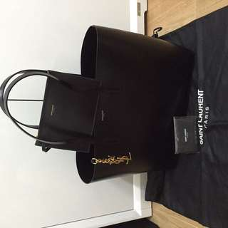 Saint Laurent shopper black