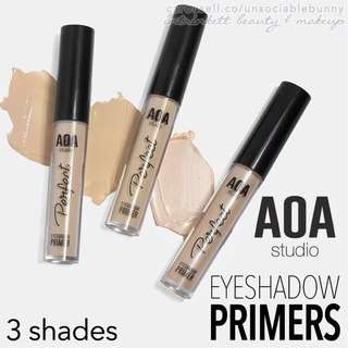 🆕 Eyeshadow Primers US AOA Studio Cruelty-free Cosmetic Makeup. 3 types