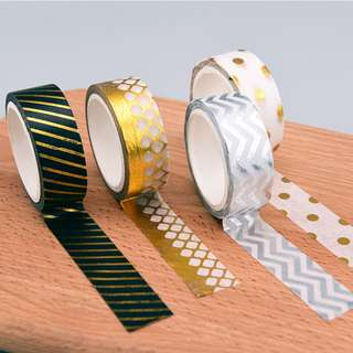 Masking Tape Shiny Pattern Set