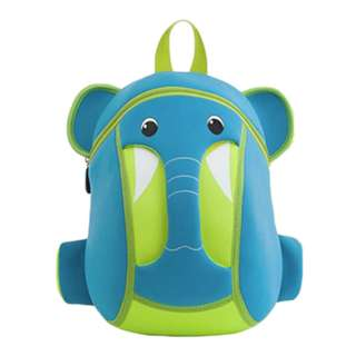 Blue Elephant Neoprene Backpack