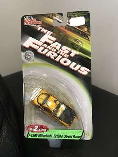 Racing Champions 1/64 The Fast and The Furious Mitsubishi Eclipse
