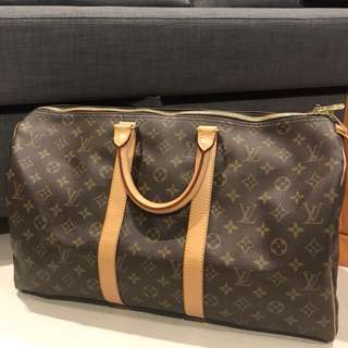 Louis Vuitton Keepal 45 Monogram