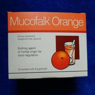 Mucofalk Orange 麥果纖-橙味 20 包