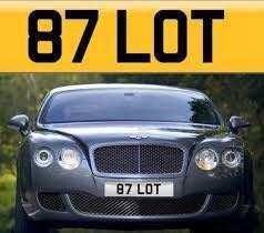 Nice number plate for sale!