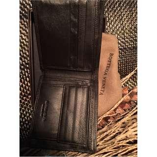 Dompet BV brown wallet coklat koin