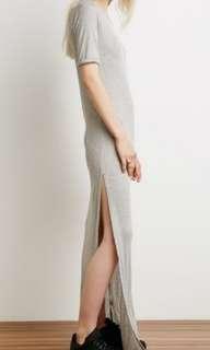 Grey Tee / Casual / Maxi Dress