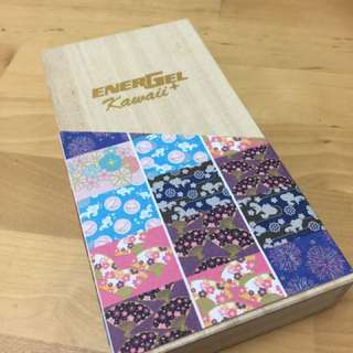 Energel Kawaii+ pens (with wooden casing)