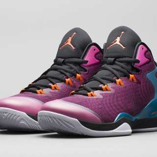 Air Jordan Superfly3 艷光紫