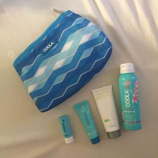 Coola Sunscreen Set