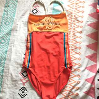 Arena Orange Onepiece Swimsuit