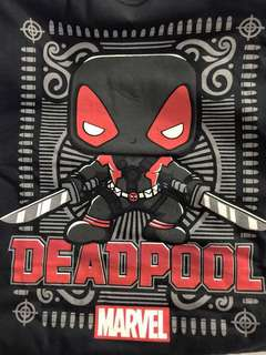 Marvel Collector Corps Exclusive Funko Deadpool (Black) T-Shirt (Medium)
