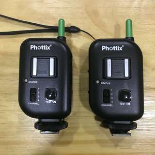 Phottix Atlas II Single Pin Transmitter + Receiver