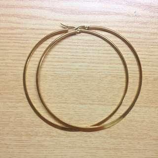 3in Hoop Earrings