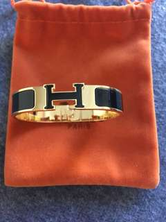 Hermes Clic H authentic Stainless Steel