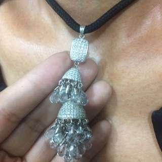 Mainan berlian + kristal