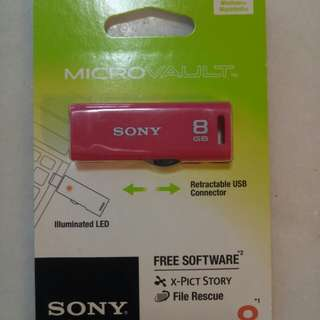 Sony MicroVault 8GB USB FlashDrive