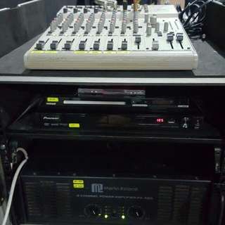 Karaoke System (DJ Console With Flight Case)