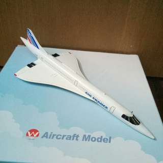 NEW AIr France Fleet MSN 207 Model Plane Airline F-BVFB Concorde