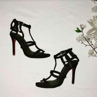 Strap heels like louboutin