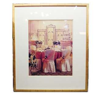 Wood picture frame - Wedding