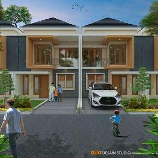 Rumah Baru 2 Lantai Murah Cimuncang View Kota Bandung