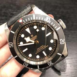 Tudor 79230N 皮帶 啟承系列 黑色