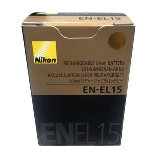 Nikon EN-EL15 Rechargeable Lithium ion Battery