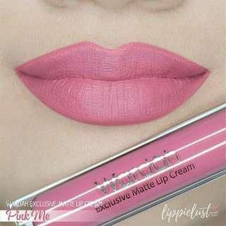 Wardah Exclusive Matte Lip Cream No. 4 Pink Me