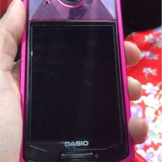 Second hand Casio tr70 pink