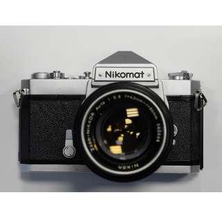 Nikomat FT 文青全機械菲林相機 連 NIKON 43-86 mm
