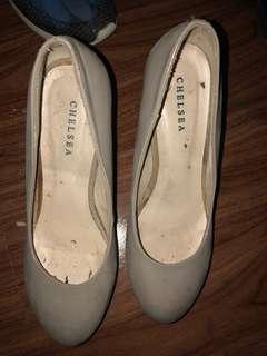 Chelsea Heels (Nude Color)