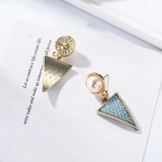 Tae Triangle Earrings